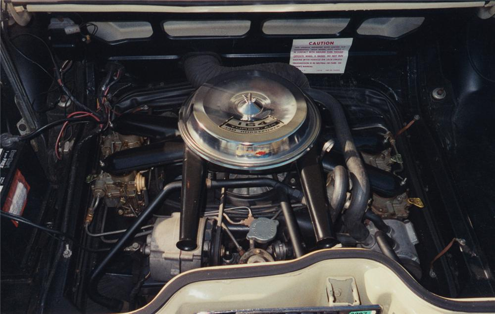 1969 CHEVROLET CORVAIR MONZA CONVERTIBLE - Engine - 49022