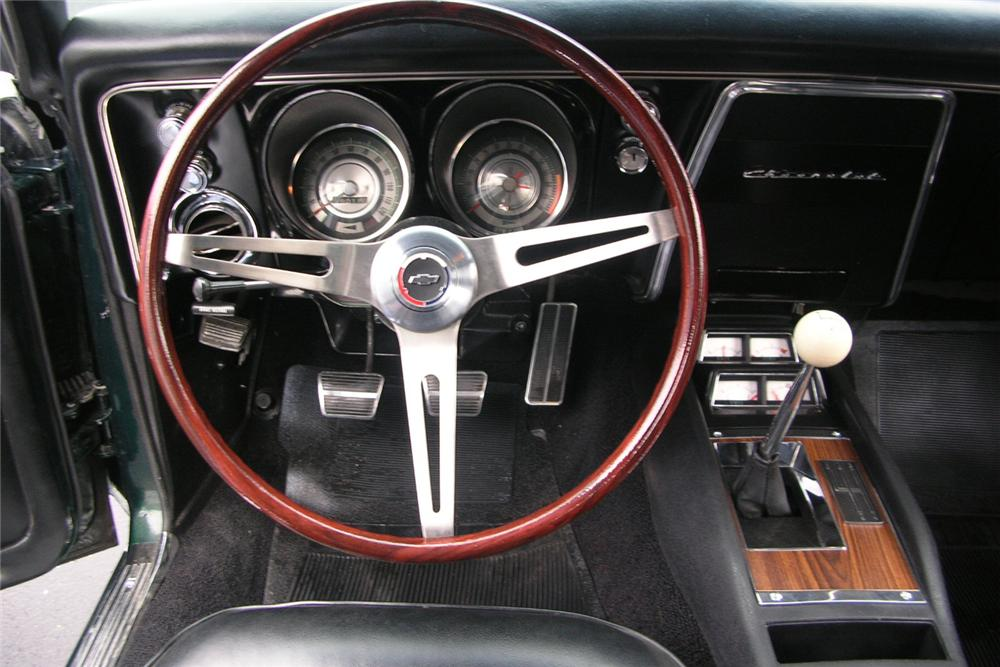 1968 CHEVROLET CAMARO Z/28 COUPE - Engine - 49027