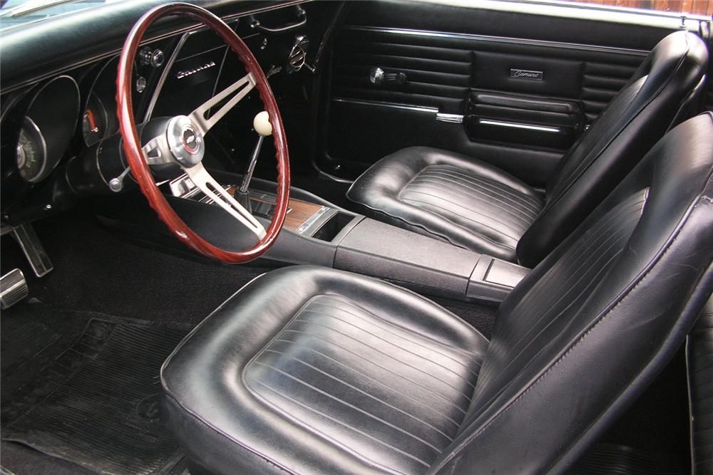 1968 CHEVROLET CAMARO Z/28 COUPE - Interior - 49027