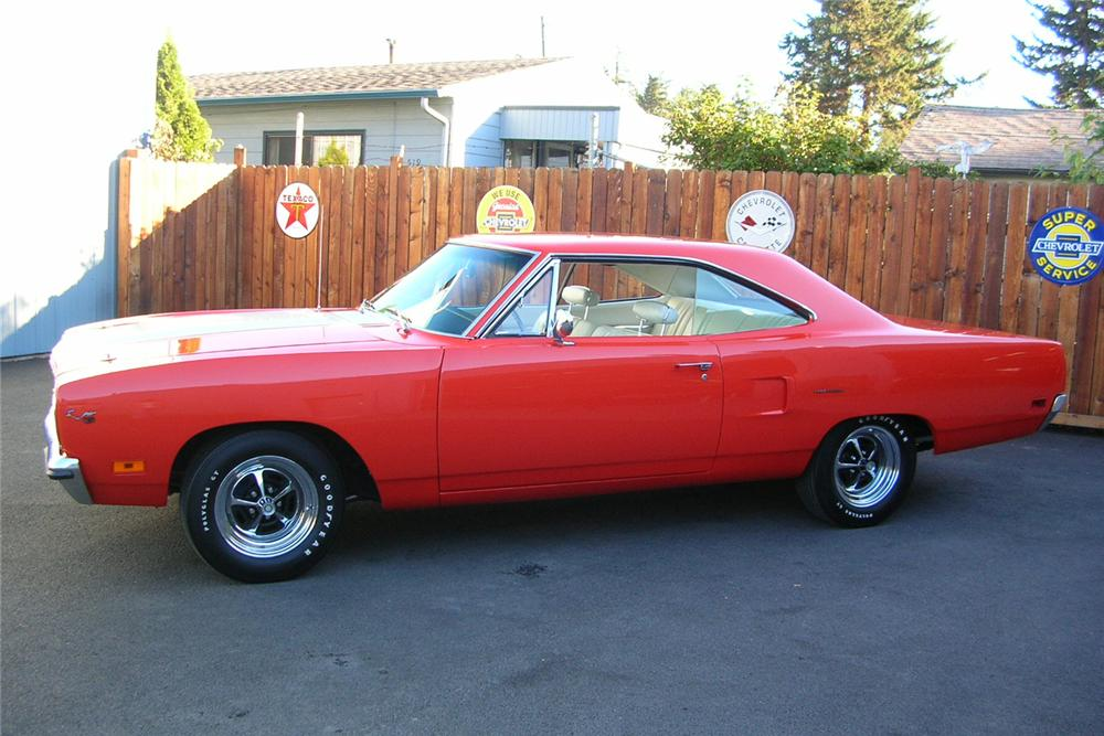 1970 PLYMOUTH ROAD RUNNER HEMI RE-CREATION - Side Profile - 49031