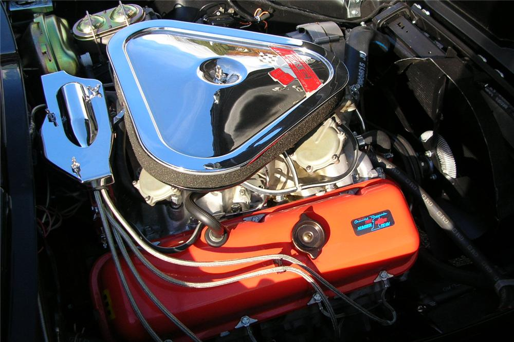 1967 CHEVROLET CORVETTE CONVERTIBLE - Engine - 49032