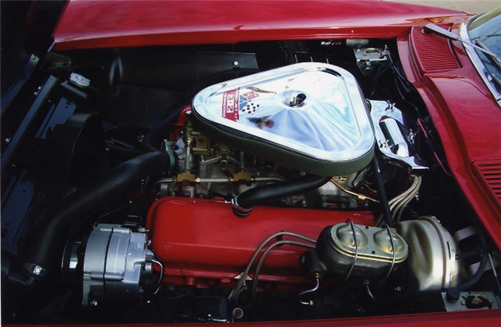 1967 CHEVROLET CORVETTE COUPE - Engine - 49040