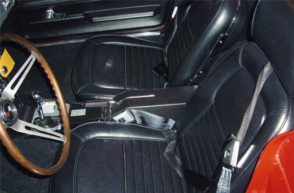 1967 CHEVROLET CORVETTE COUPE - Interior - 49040