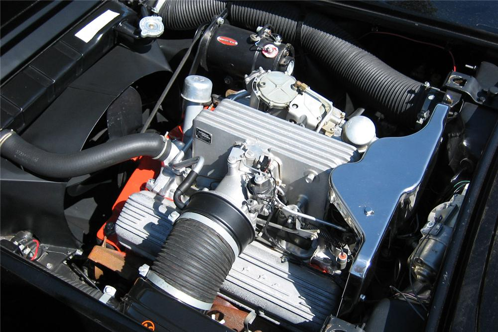 1959 CHEVROLET CORVETTE CONVERTIBLE - Engine - 49091