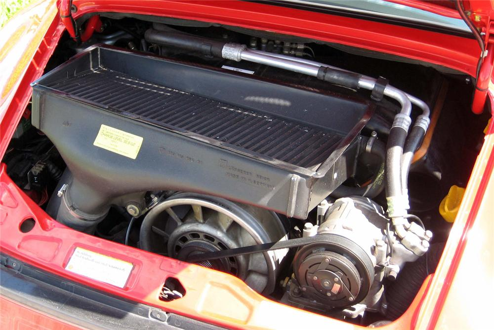 1991 PORSCHE 911 TURBO COUPE - Engine - 49096
