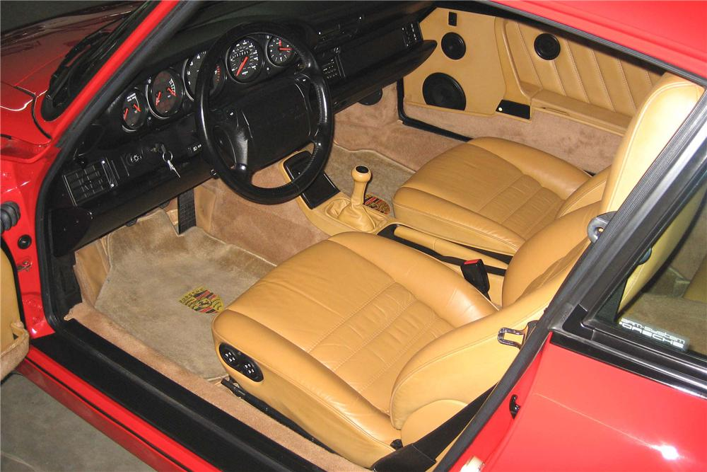 1991 PORSCHE 911 TURBO COUPE - Interior - 49096