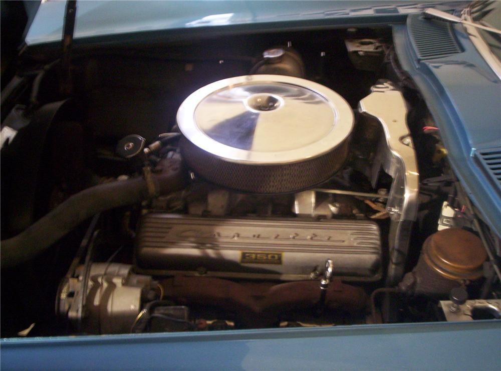 1966 CHEVROLET CORVETTE CONVERTIBLE - Engine - 49122