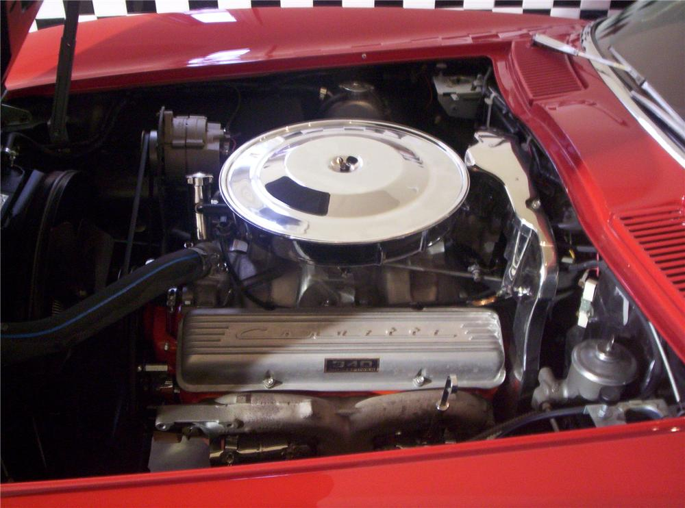 1963 CHEVROLET CORVETTE CONVERTIBLE - Engine - 49129