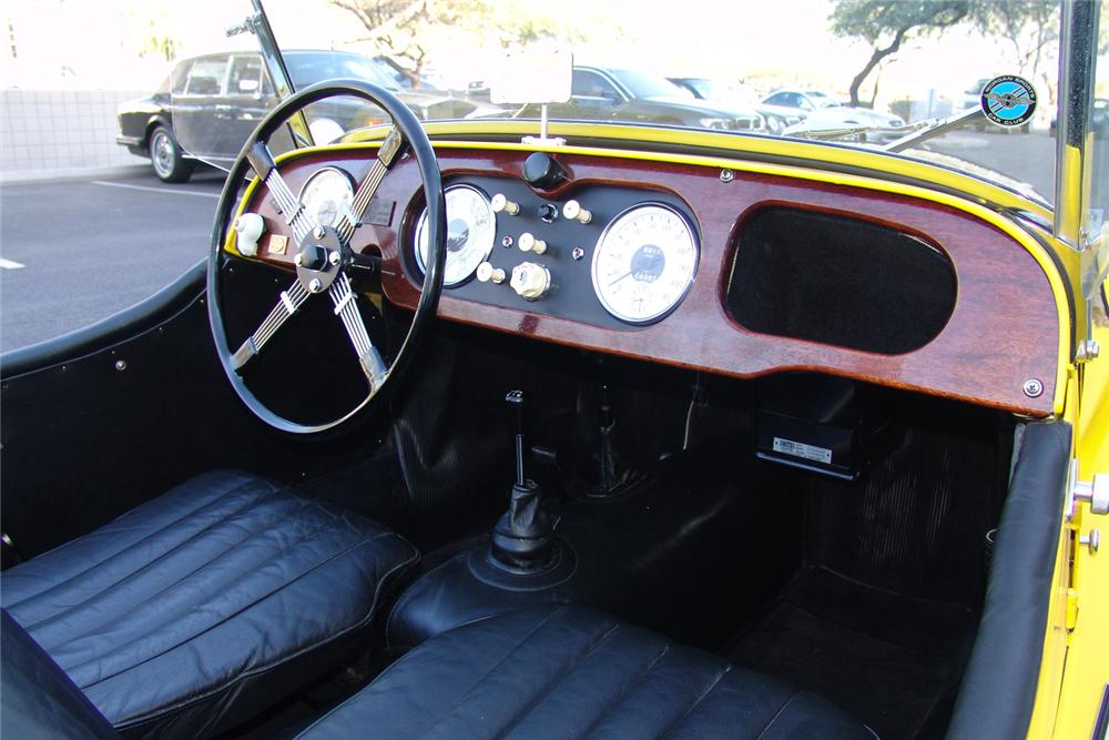 1959 MORGAN PLUS 4 ROADSTER - Interior - 49134