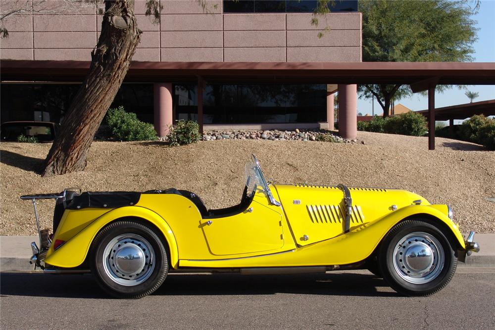 1959 MORGAN PLUS 4 ROADSTER - Side Profile - 49134