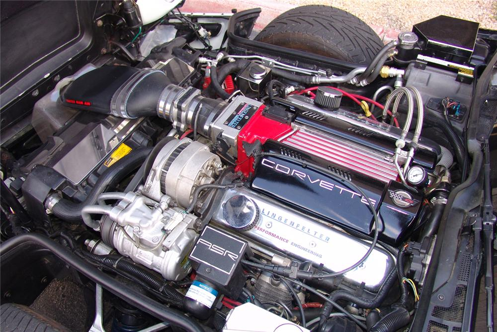 1995 CHEVROLET CORVETTE CUSTOM COUPE - Engine - 49136