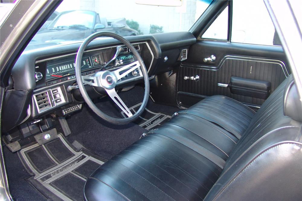 1970 CHEVROLET EL CAMINO PICKUP - Interior - 49141