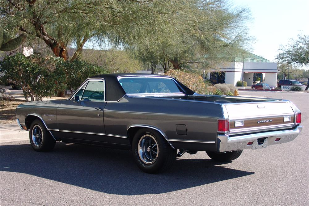1970 CHEVROLET EL CAMINO PICKUP - Rear 3/4 - 49141
