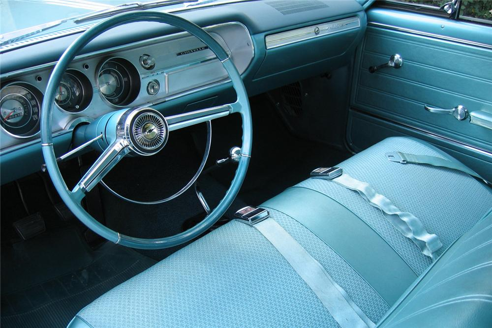 1965 CHEVROLET MALIBU 2 DOOR HARDTOP - Interior - 49143