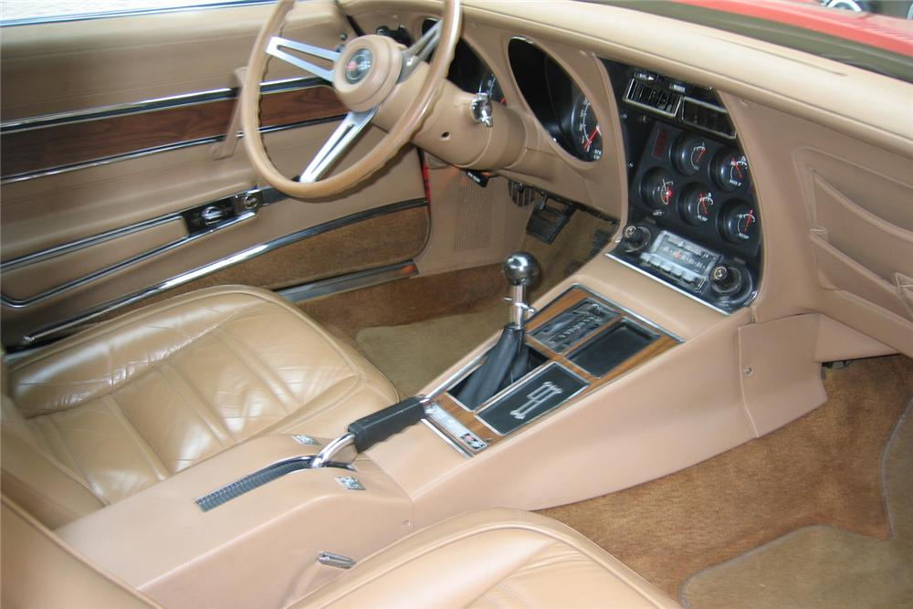 1973 CHEVROLET CORVETTE CONVERTIBLE - Interior - 49146