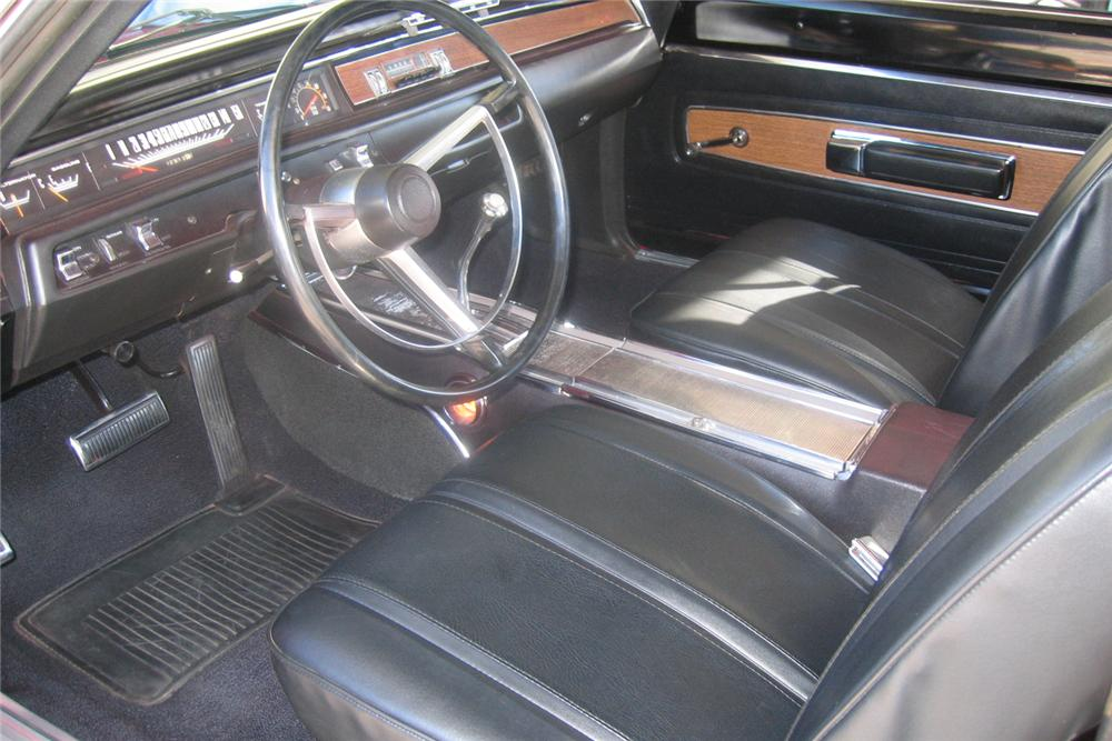 1968 PLYMOUTH HEMI GTX 2 DOOR HARDTOP - Interior - 49147