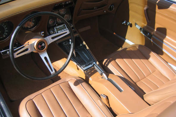 1971 CHEVROLET CORVETTE CONVERTIBLE - Interior - 49148