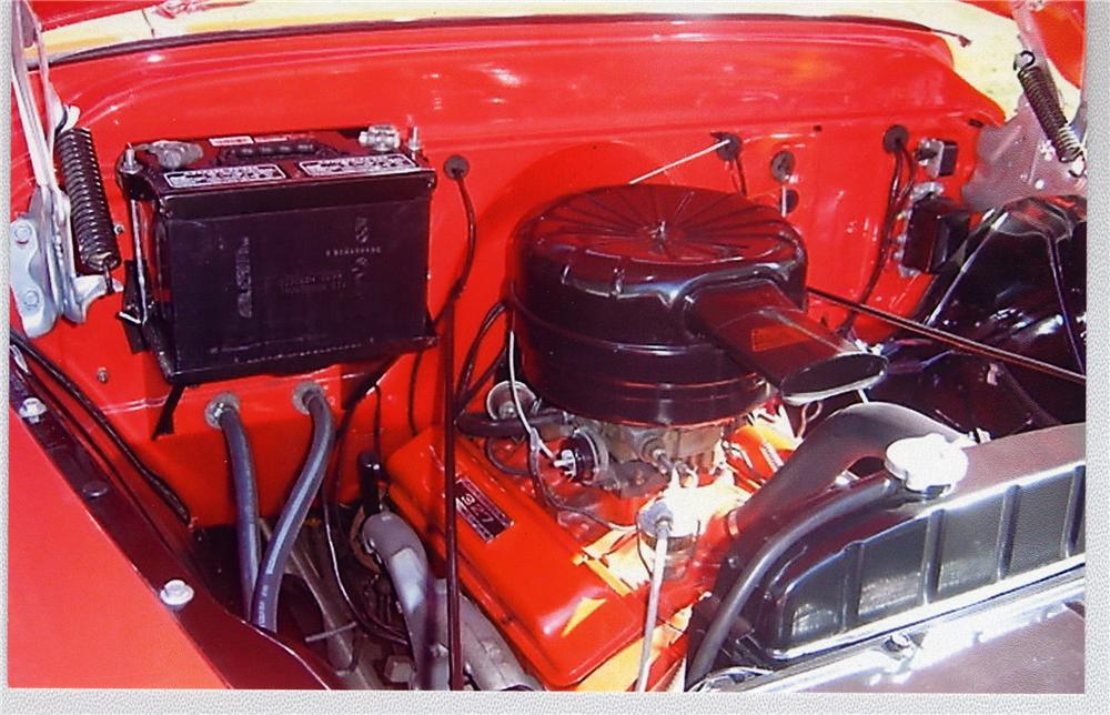 1957 CHEVROLET 3100 SUBURBAN - Engine - 49188