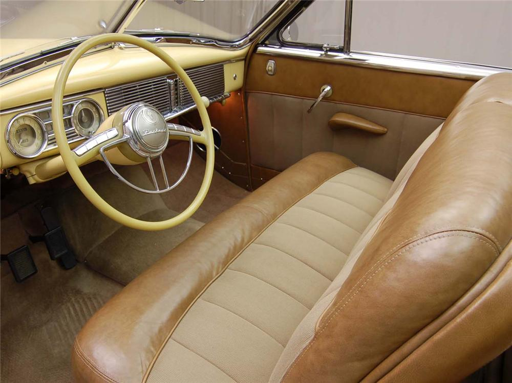 1948 PACKARD CUSTOM EIGHT VICTORIA CONVERTIBLE - Interior - 49193