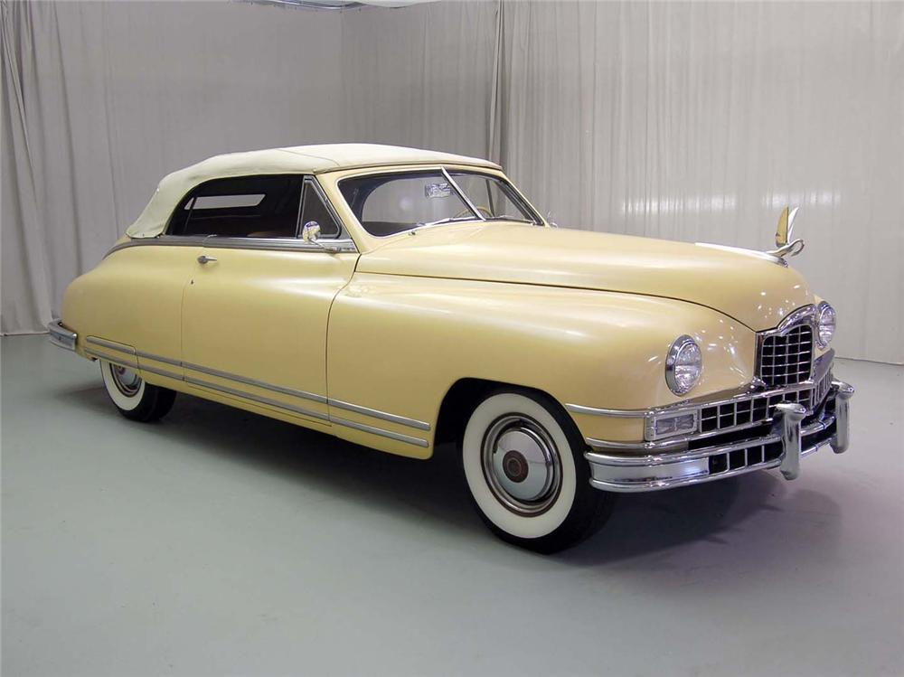 1948 PACKARD CUSTOM EIGHT VICTORIA CONVERTIBLE - Misc 1 - 49193