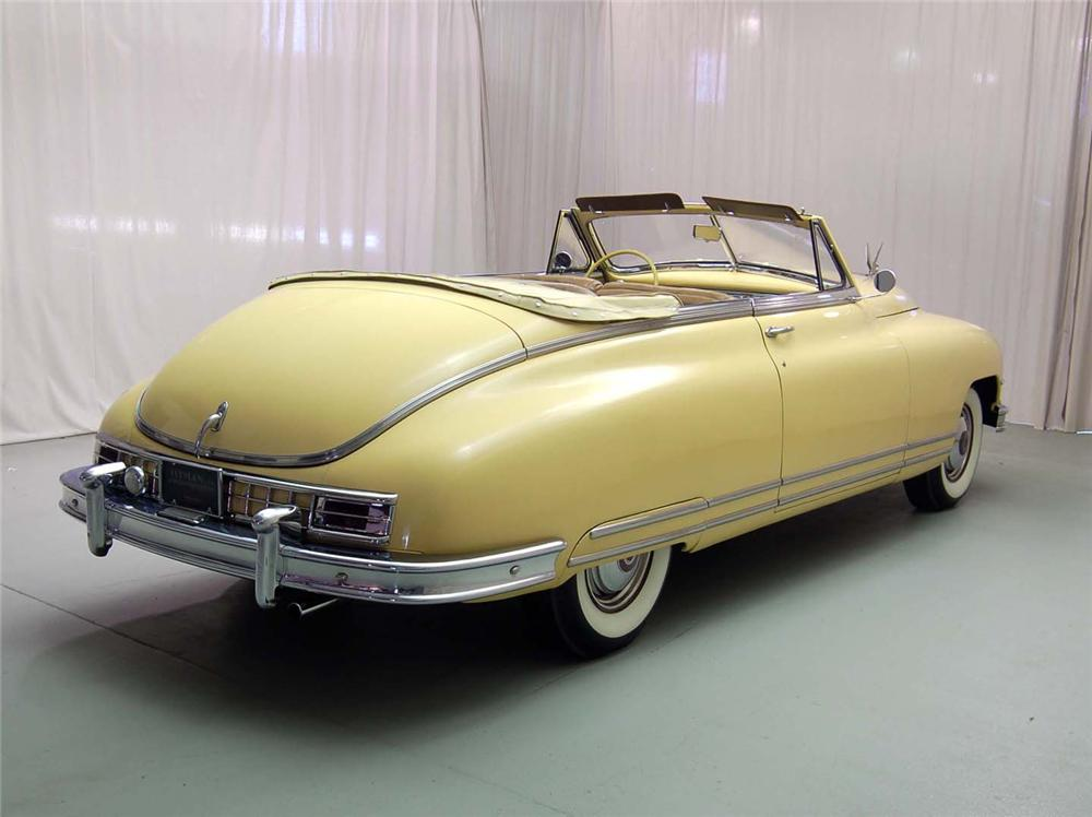 1948 PACKARD CUSTOM EIGHT VICTORIA CONVERTIBLE - Rear 3/4 - 49193