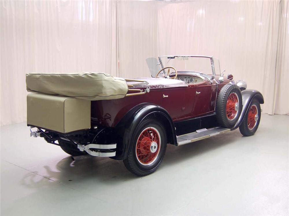 1928 LINCOLN 164 TOURING PHAETON - Rear 3/4 - 49195