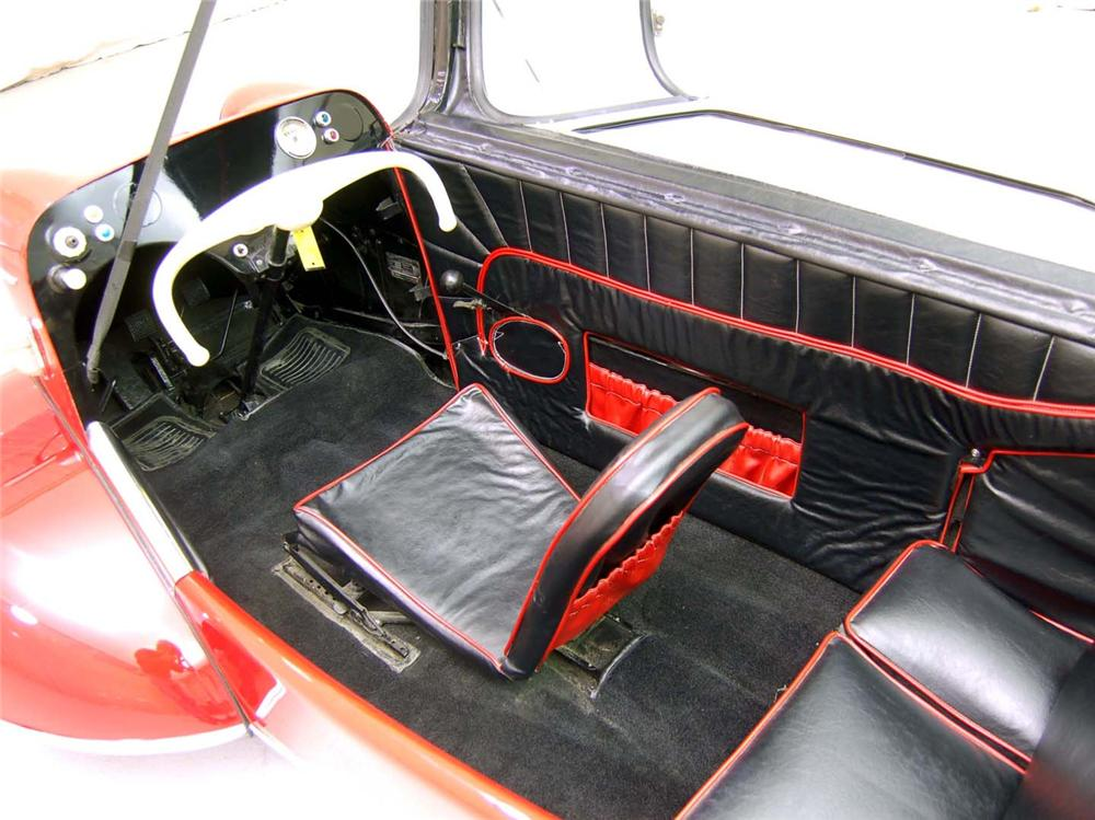 1958 MESSERSCHMITT KR-200 CONVERTIBLE - Interior - 49201
