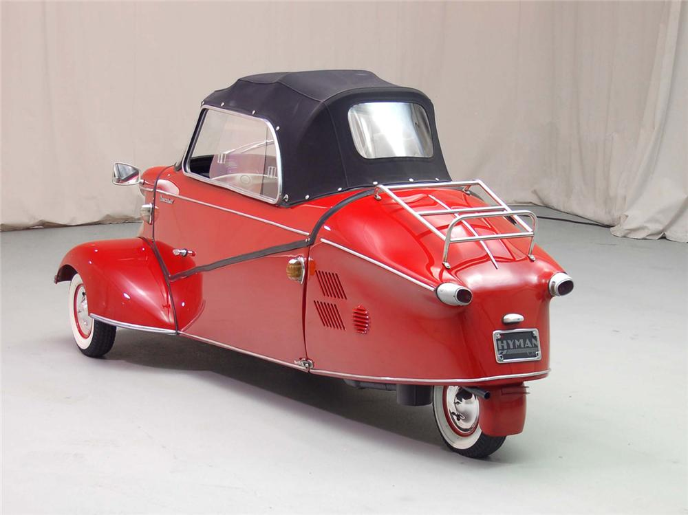 1958 MESSERSCHMITT KR-200 CONVERTIBLE - Rear 3/4 - 49201