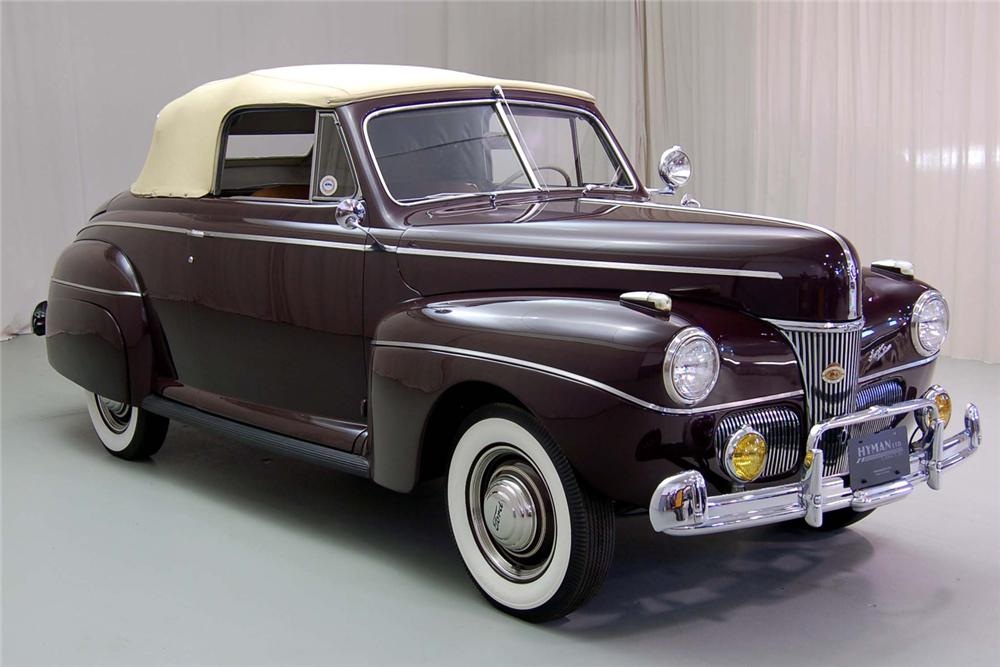 1941 FORD SUPER DELUXE CONVERTIBLE - Front 3/4 - 49202