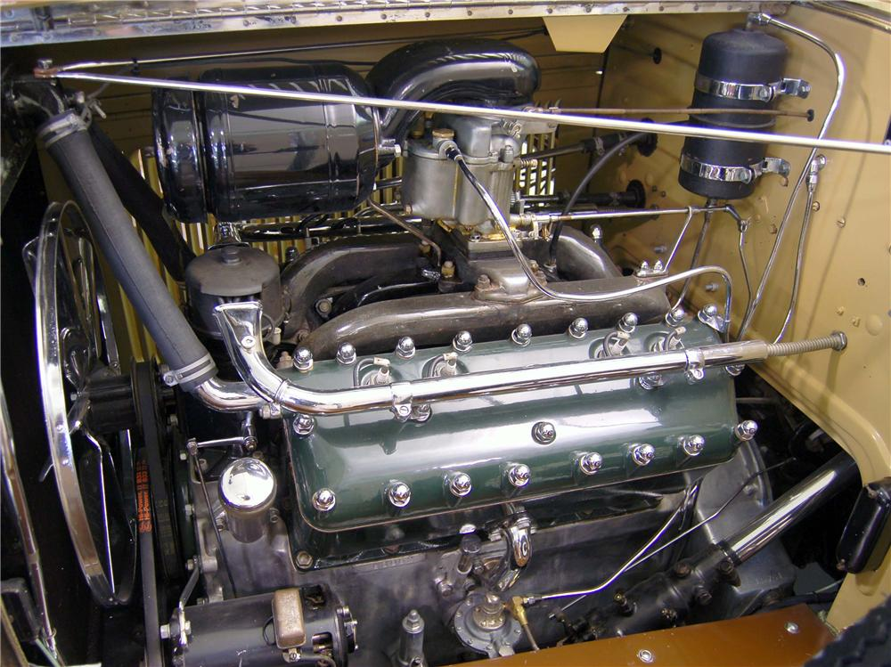 "1931 LINCOLN ""K"" LEBARON CONVERTIBLE - Engine - 49204"