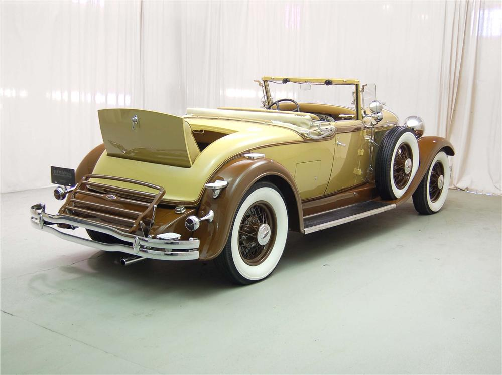 "1931 LINCOLN ""K"" LEBARON CONVERTIBLE - Side Profile - 49204"