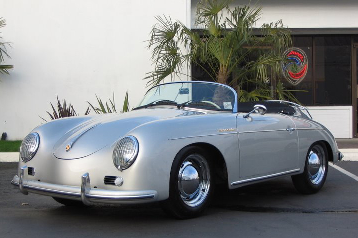 1957 PORSCHE SPEEDSTER RE-CREATION - Front 3/4 - 49209