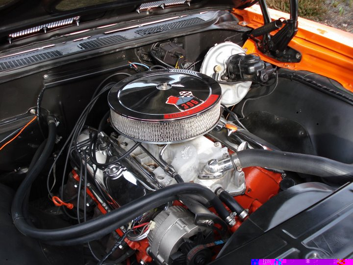 1969 CHEVROLET CHEVELLE SS 396 COUPE - Engine - 49210