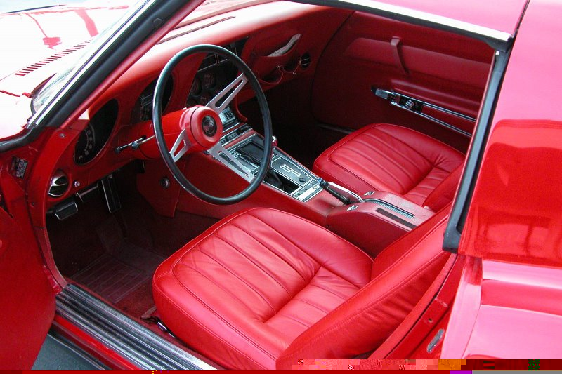 1969 CHEVROLET CORVETTE COUPE - Interior - 49222
