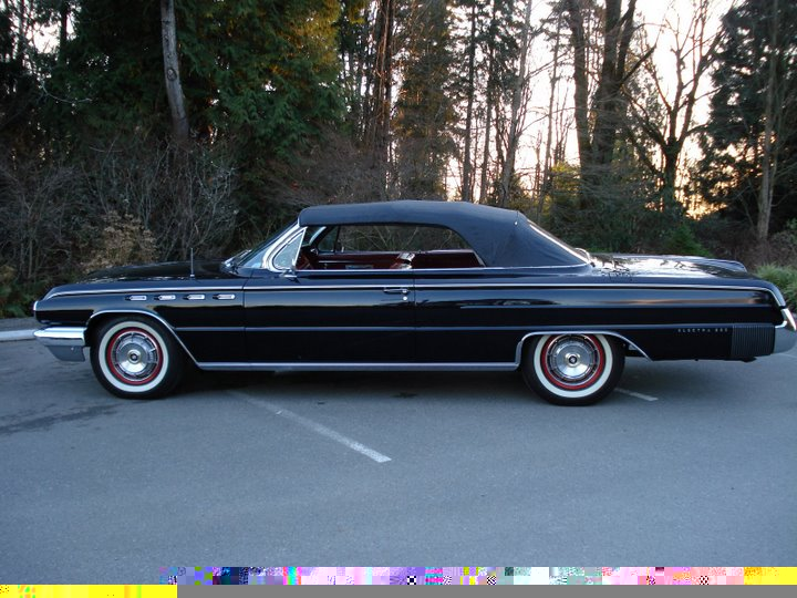 1962 BUICK ELECTRA 225 CONVERTIBLE - Side Profile - 49226