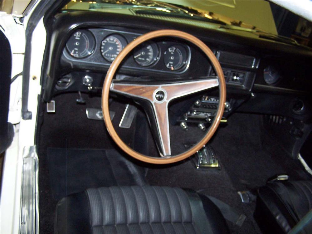 1969 MERCURY COUGAR ELIMINATOR COUPE - Interior - 49238