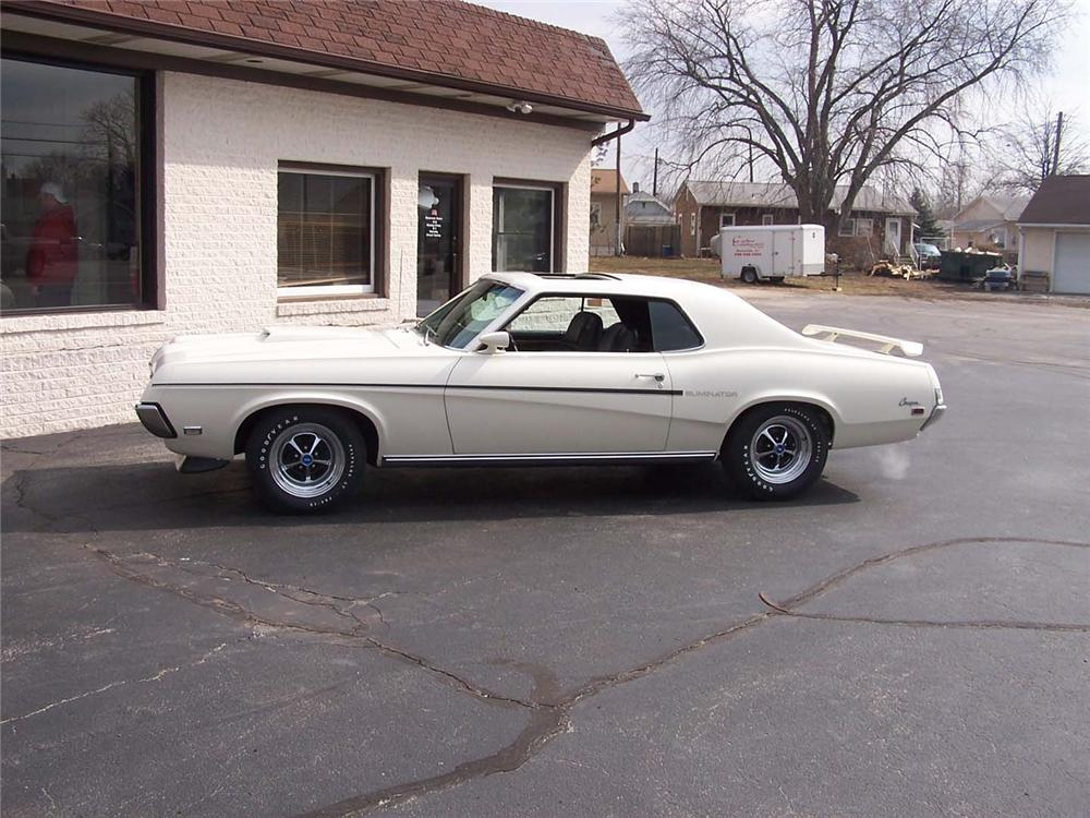 1969 MERCURY COUGAR ELIMINATOR COUPE - Side Profile - 49238