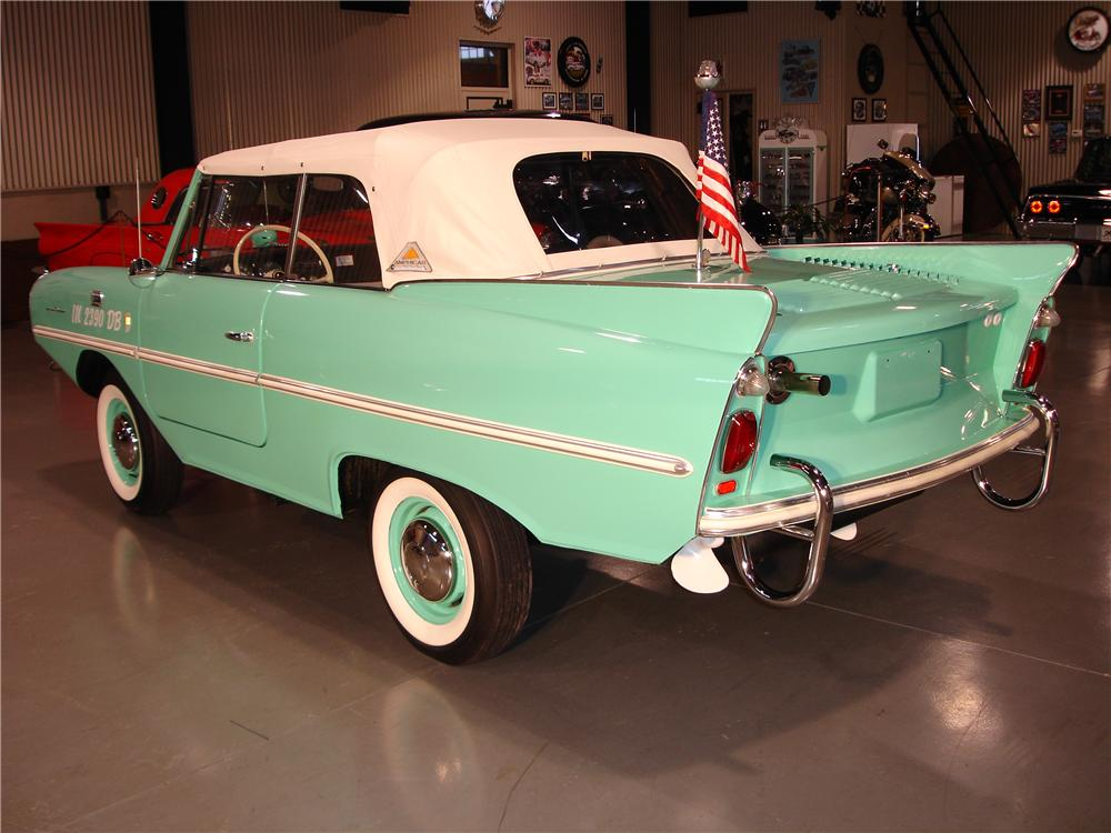 1967 AMPHICAR 770 CONVERTIBLE - Rear 3/4 - 49246
