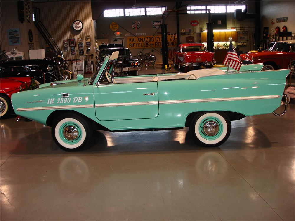 1967 AMPHICAR 770 CONVERTIBLE - Side Profile - 49246