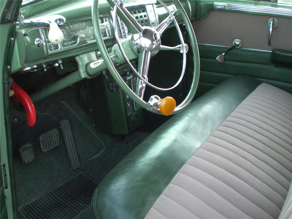 1948 CHRYSLER WINDSOR CONVERTIBLE - Interior - 49249