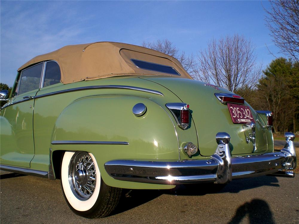 1948 Chrysler Windsor Convertible 49249