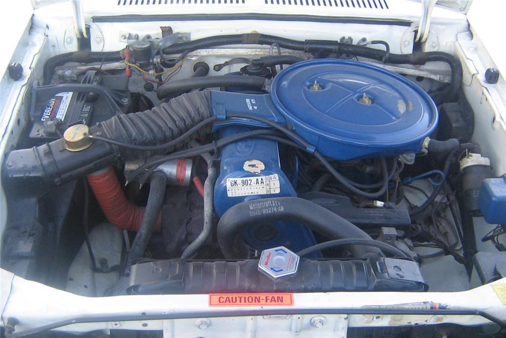 1976 FORD PINTO COUPE - Engine - 49252