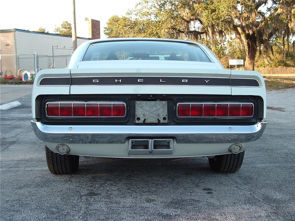 1969 SHELBY GT350 FASTBACK - Rear 3/4 - 49266