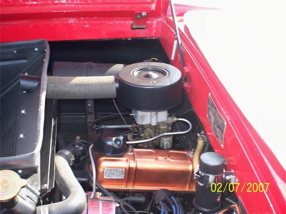1966 AMPHICAR 770 CONVERTIBLE - Engine - 49267