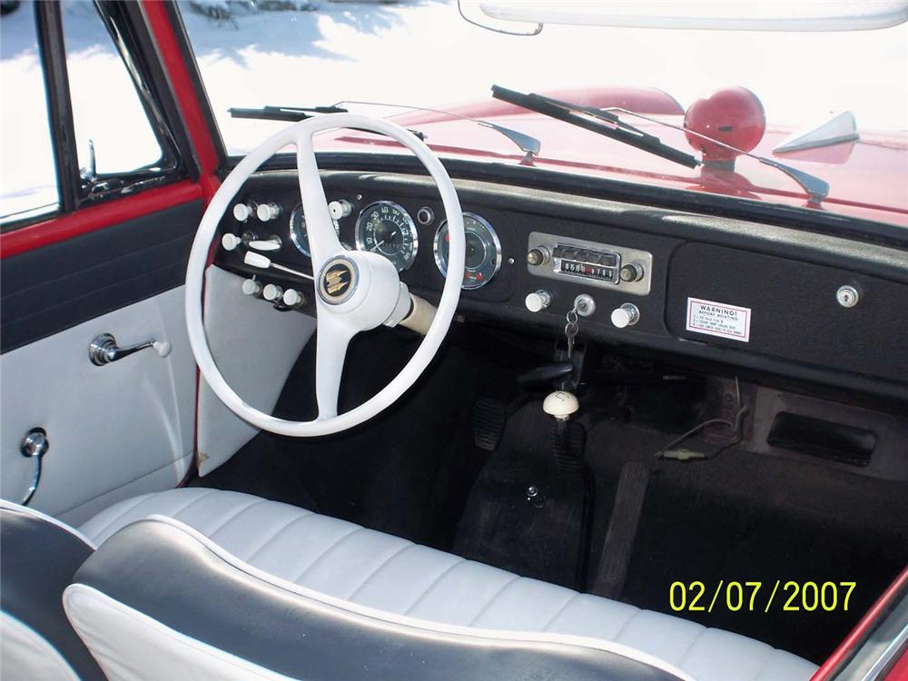 1966 AMPHICAR 770 CONVERTIBLE - Interior - 49267