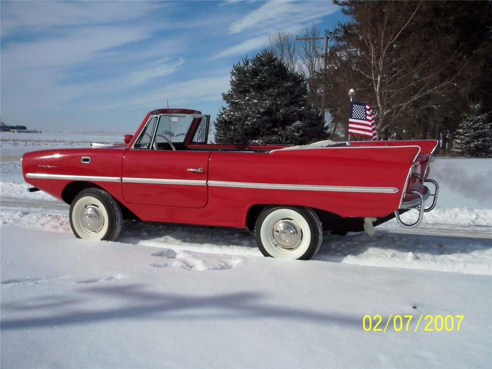 1966 AMPHICAR 770 CONVERTIBLE - Side Profile - 49267