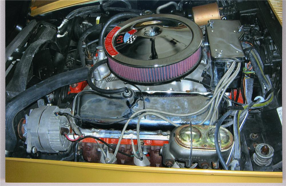 1969 CHEVROLET CORVETTE COUPE - Engine - 49284
