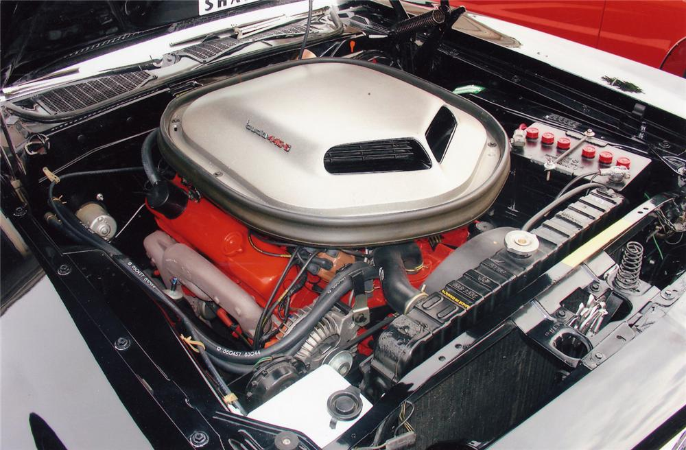 1970 PLYMOUTH CUDA COUPE - Engine - 49341