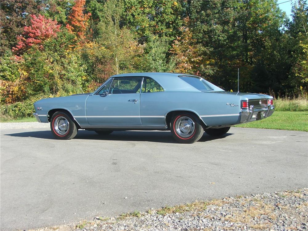 1967 CHEVROLET CHEVELLE SS 396 COUPE - Side Profile - 49343