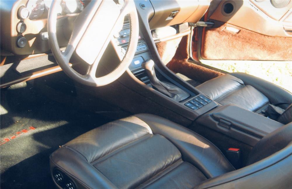 1985 PORSCHE 928S 2 DOOR W/SUNROOF - Interior - 49353